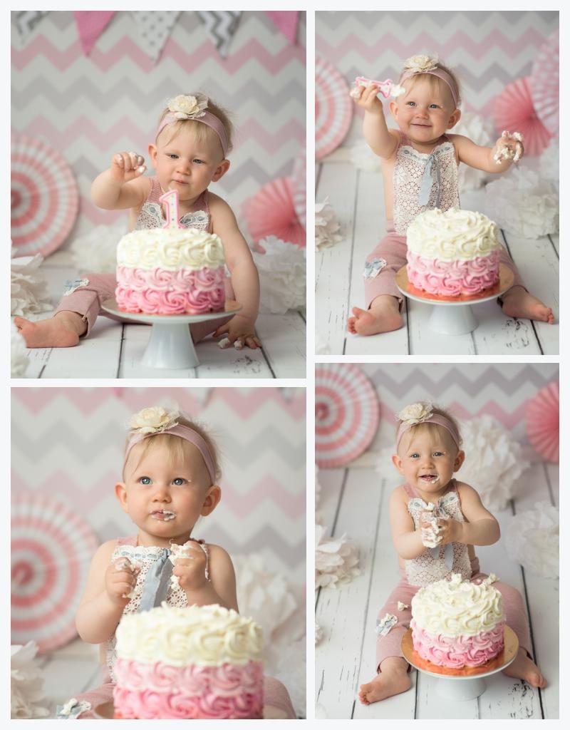 Studyjna sesja urodzinowa